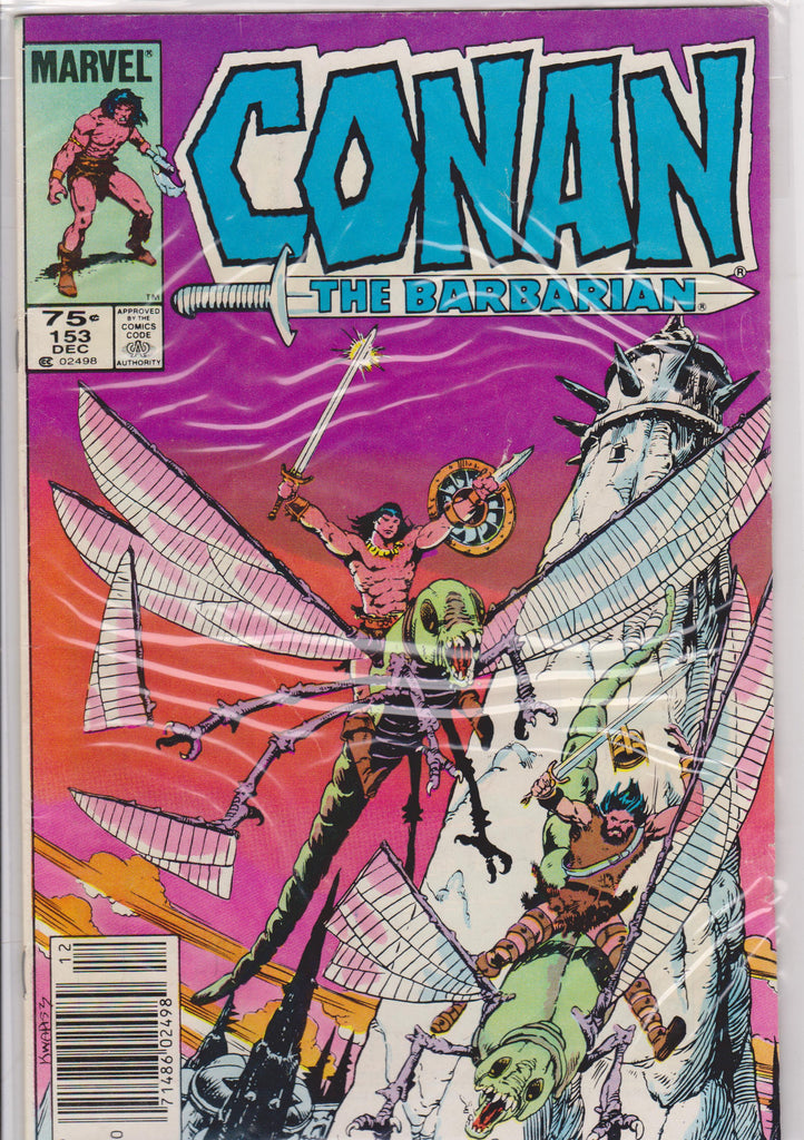 Conan the Barbarian #153 VF 7.5 - The Dragon's Tail