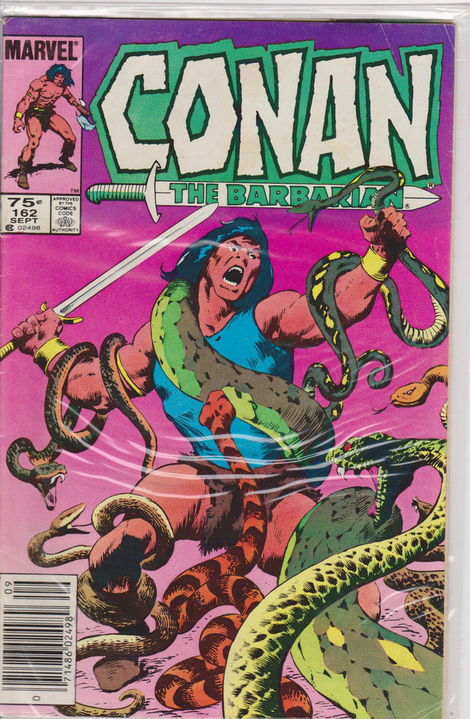 Conan the Barbarian #162 VF 7.5 - The Dragon's Tail
