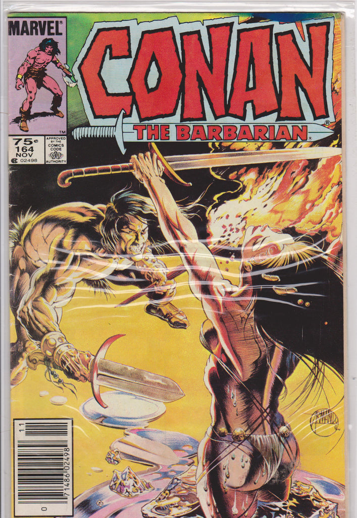 Conan the Barbarian #164 VF 7.0 - The Dragon's Tail