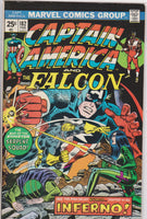 Captain America #182 VF 8.0