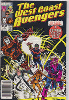The West Coast Avengers #1 NM  9.0