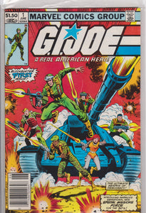 Gi Joe #1 NM 9.6 - The Dragon's Tail