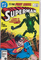 Superman #1 NM 9.6 - The Dragon's Tail