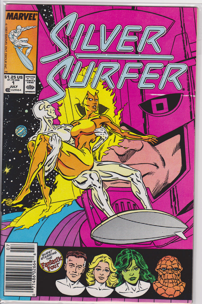 The Silver Surfer #1 NM 9.6 - The Dragon's Tail