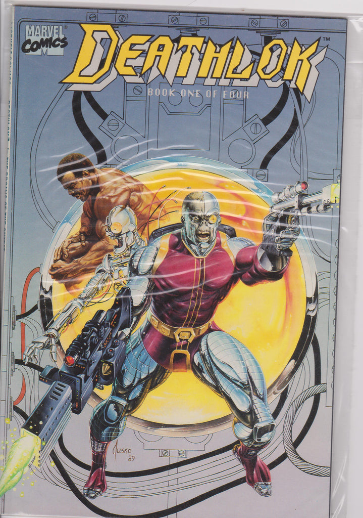 Deathlok #1 NM 9.6 Mini Series - The Dragon's Tail