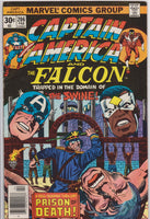 Captain America #206 VF 7.5