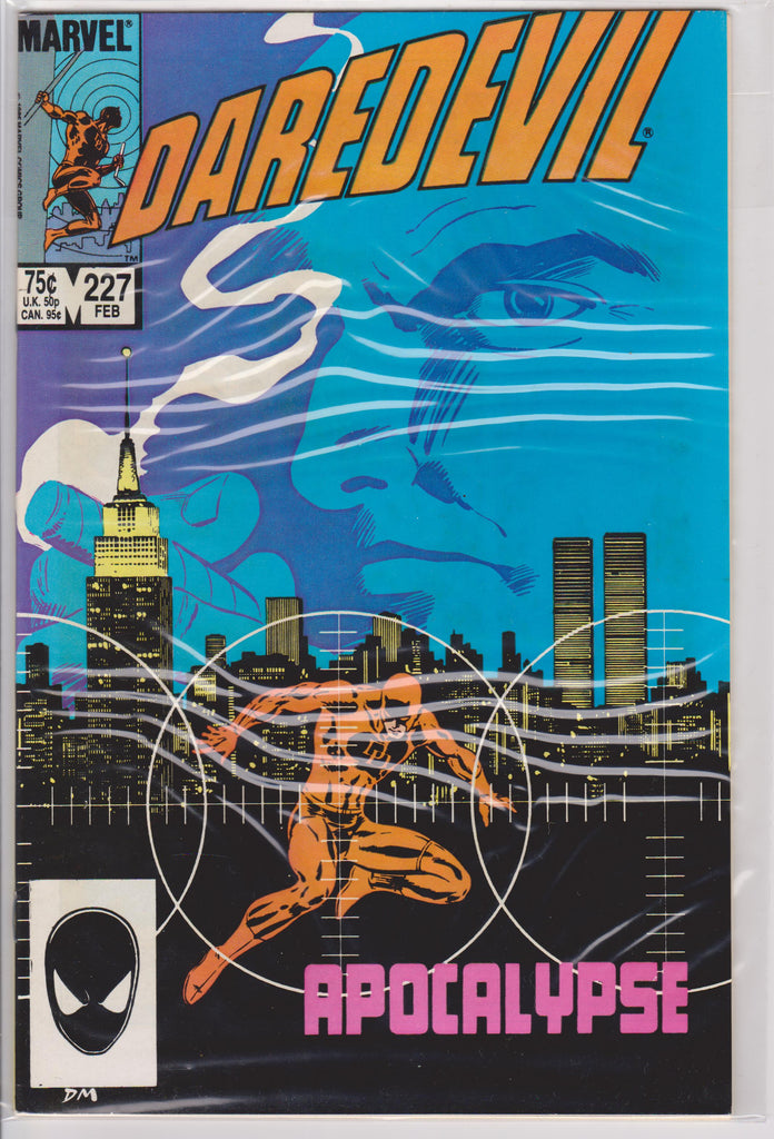 Daredevil #227 NM 9.4 - The Dragon's Tail
