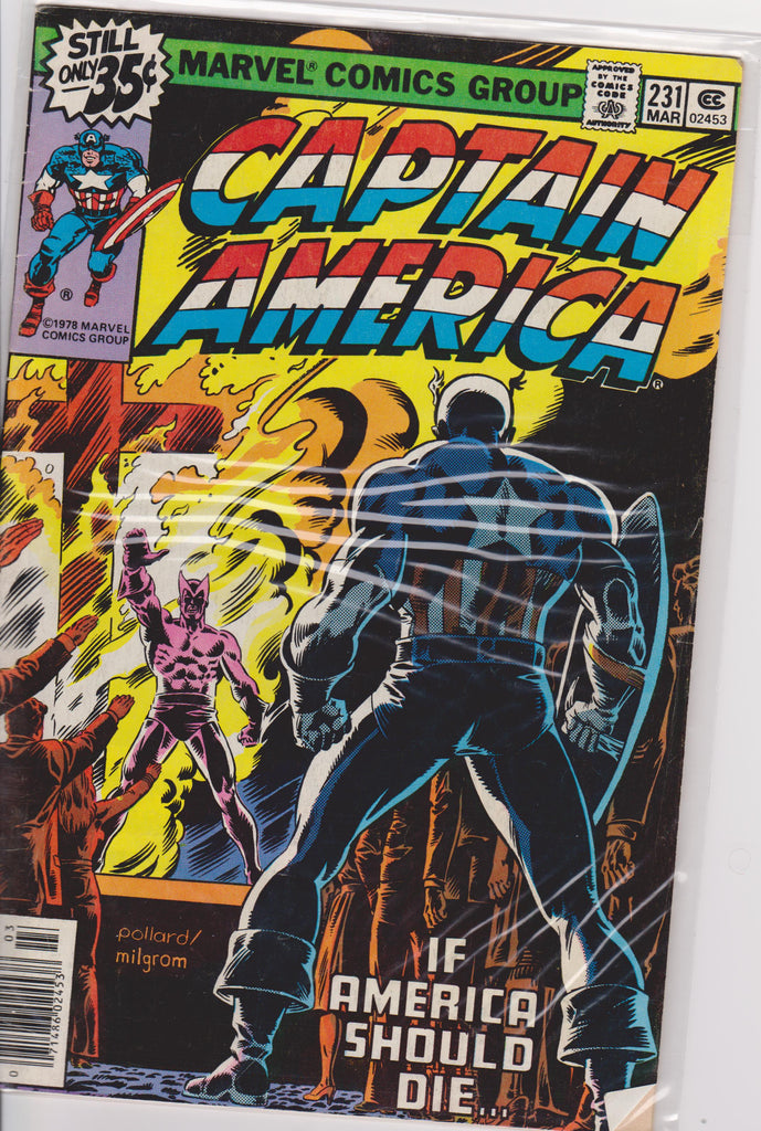 Captain America #231 VF 7.5 - The Dragon's Tail