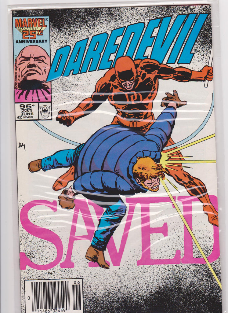 Daredevil #231 NM 9.4 - The Dragon's Tail