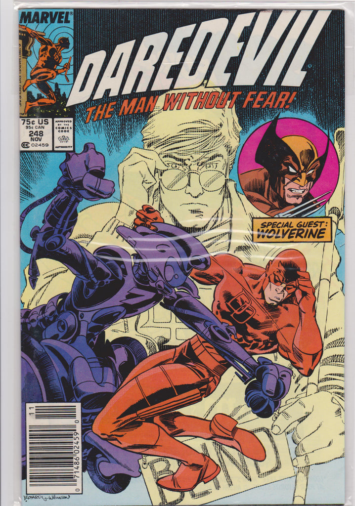 Daredevil #248 NM 9.4 - The Dragon's Tail
