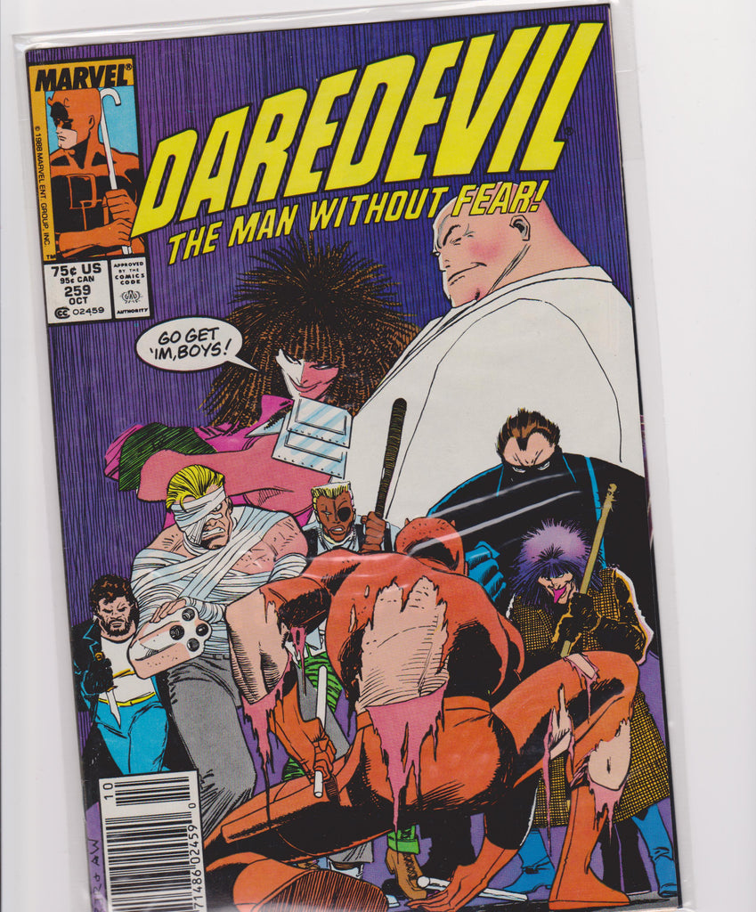 Daredevil #259 NM 9.4 - The Dragon's Tail
