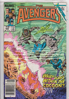Avengers #263 VF 9.0 - The Dragon's Tail