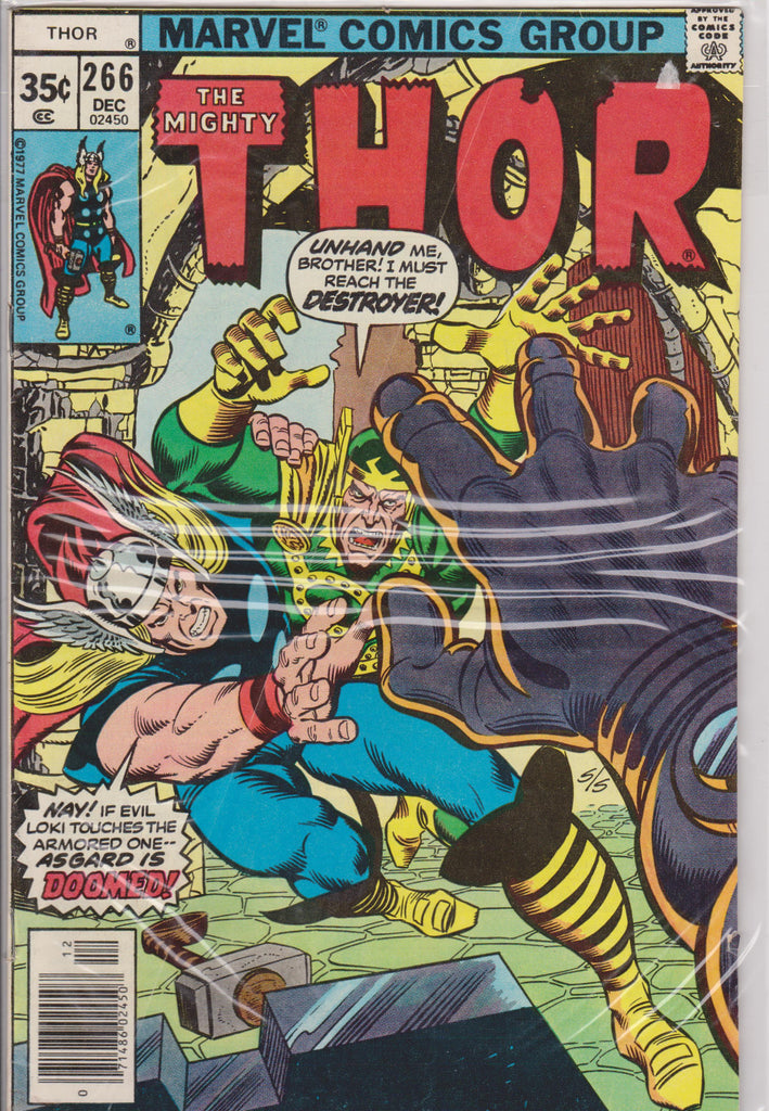 Thor #266 VF+ 8.0 - The Dragon's Tail