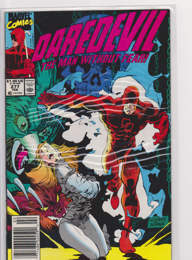 Daredevil #277 NM 9.4 - The Dragon's Tail