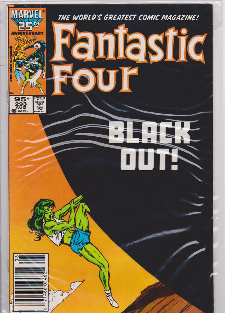 Fantastic Four #293 NM 9.4 - The Dragon's Tail