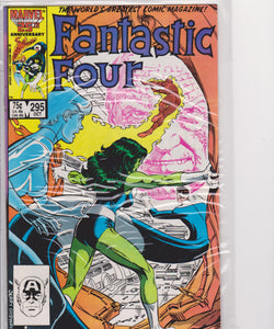 Fantastic Four #295(m price) NM 9.4 - The Dragon's Tail