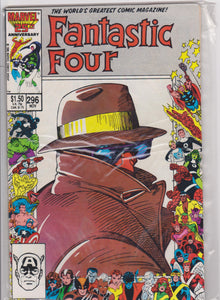 Fantastic Four #296 NM 9.6 - The Dragon's Tail