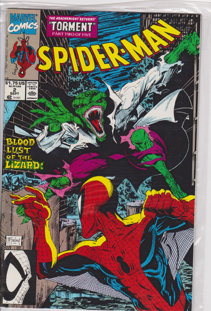 Spiderman #2 NM 9.8 - The Dragon's Tail