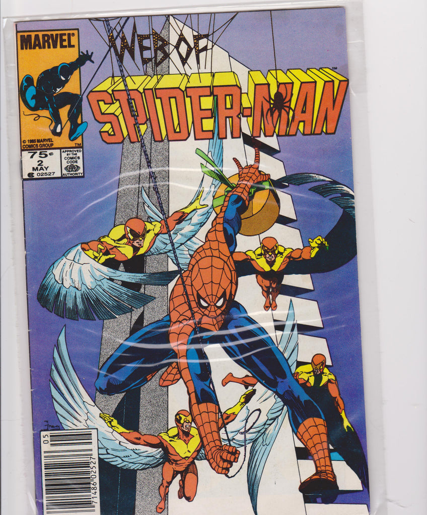 The Web of Spiderman #2 VF+ 8.5 - The Dragon's Tail