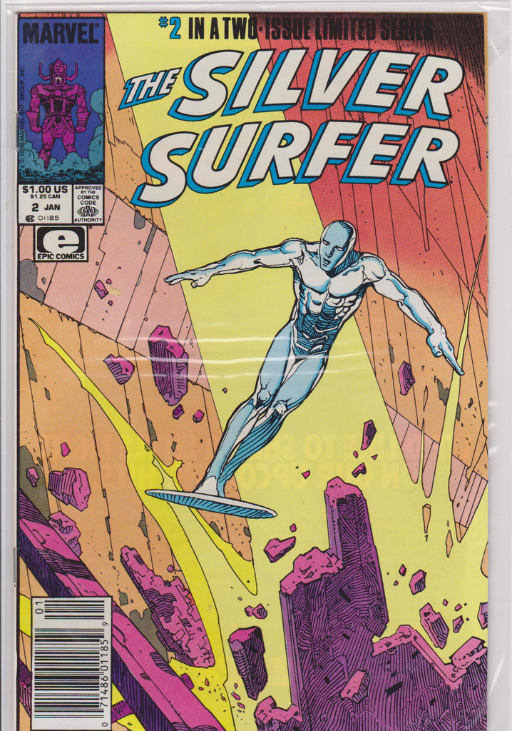 The Silver Surfer #2 Two issue Limited Series NM 9.6 - The Dragon's Tail