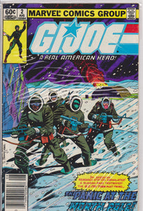 Gi Joe #2 NM 9.6 - The Dragon's Tail