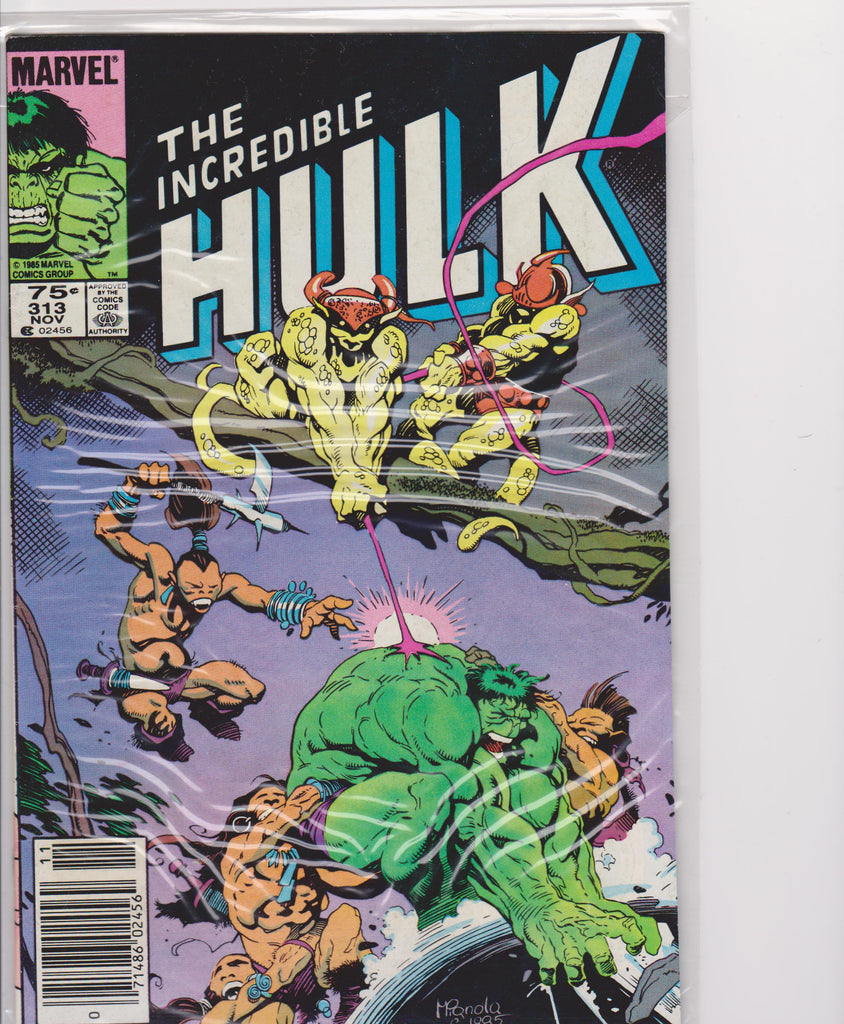 The Incredible Hulk #313 NM 9.8 - The Dragon's Tail