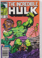 The Incredible Hulk #314 NM