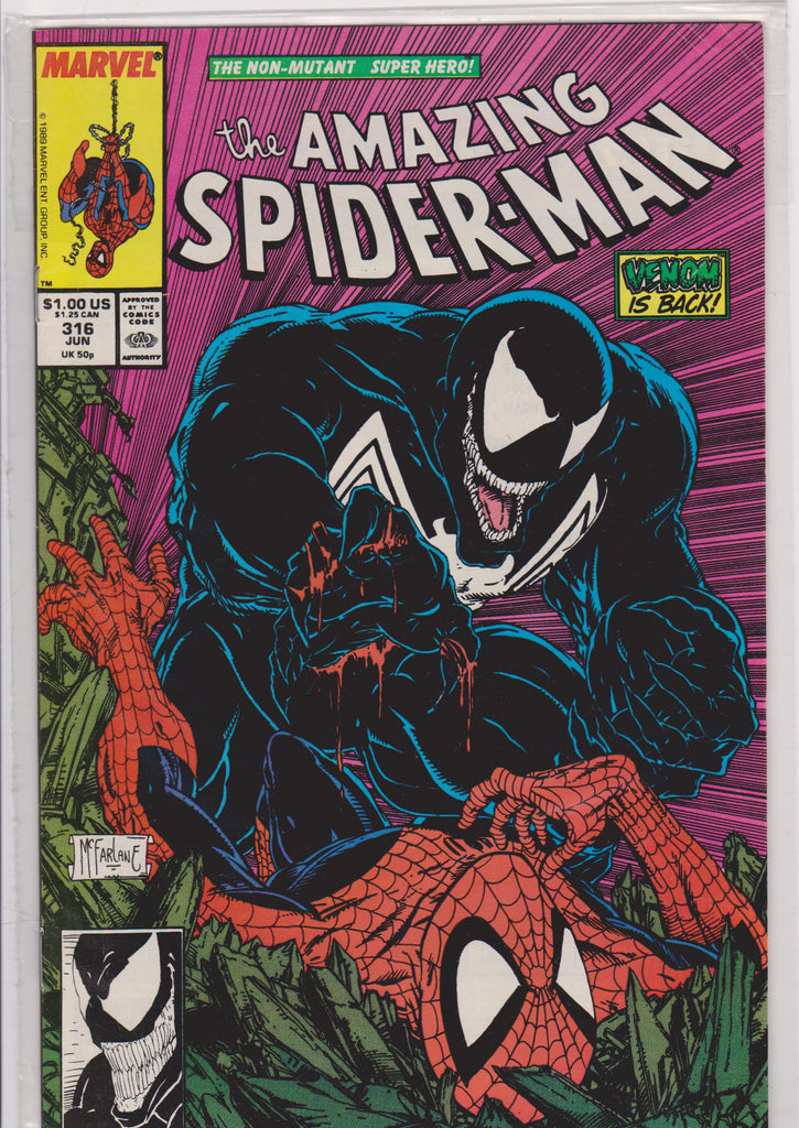 The Amazing Spiderman #316 NM 9.6 - The Dragon's Tail
