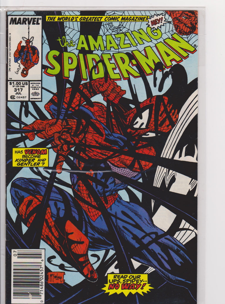 The Amazing Spiderman #317 NM 9.6 - The Dragon's Tail