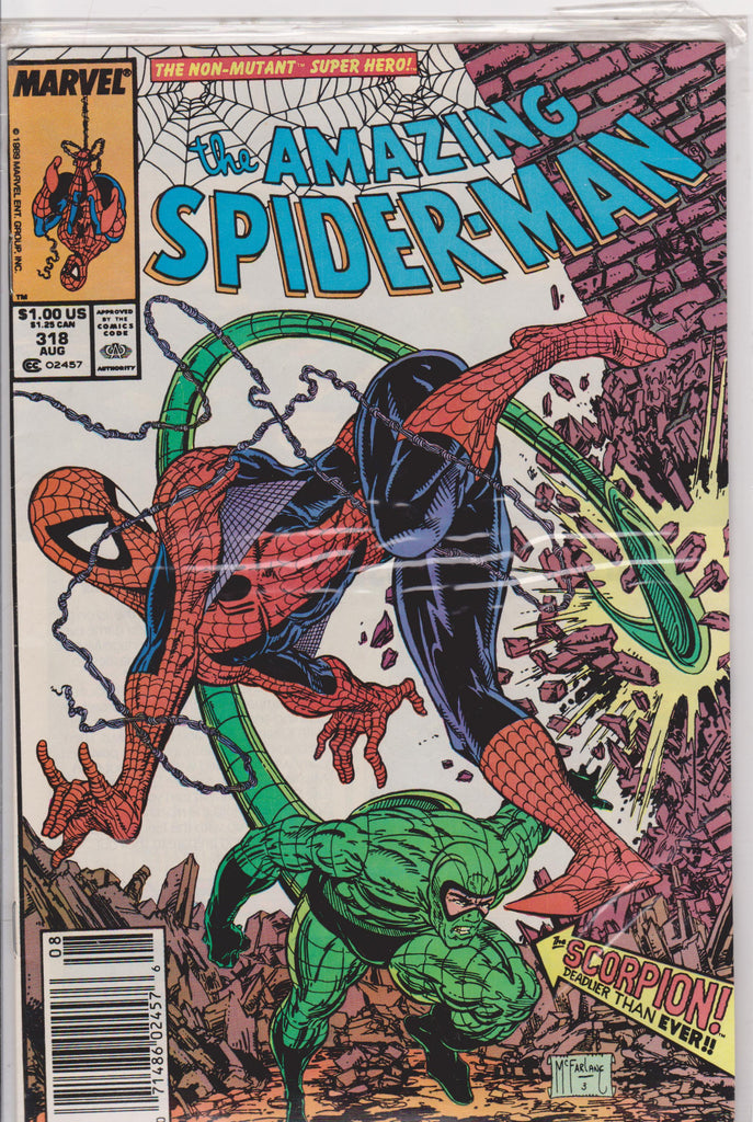 The Amazing Spiderman #318 NM 9.6 - The Dragon's Tail