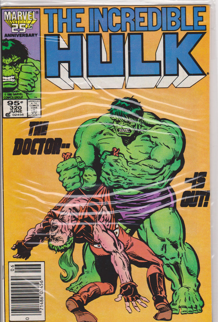 The Incredible Hulk #320 NM 9.8 - The Dragon's Tail
