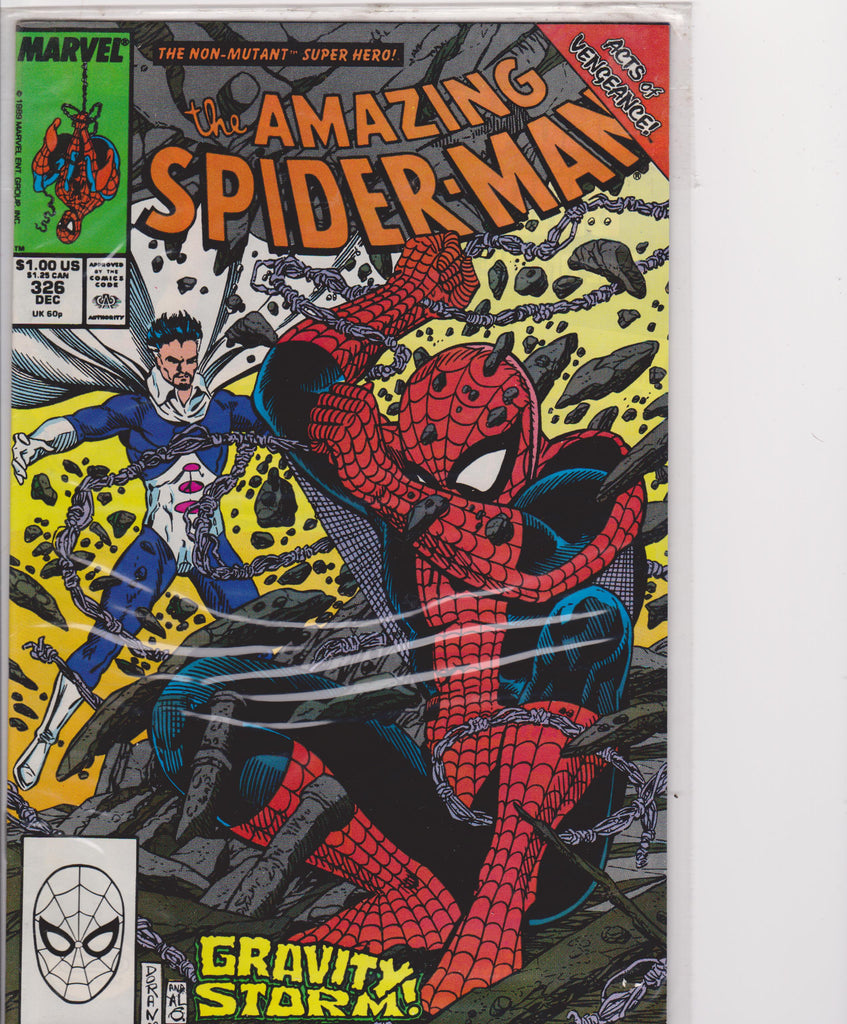 The Amazing Spiderman #326 NM 9.6 - The Dragon's Tail