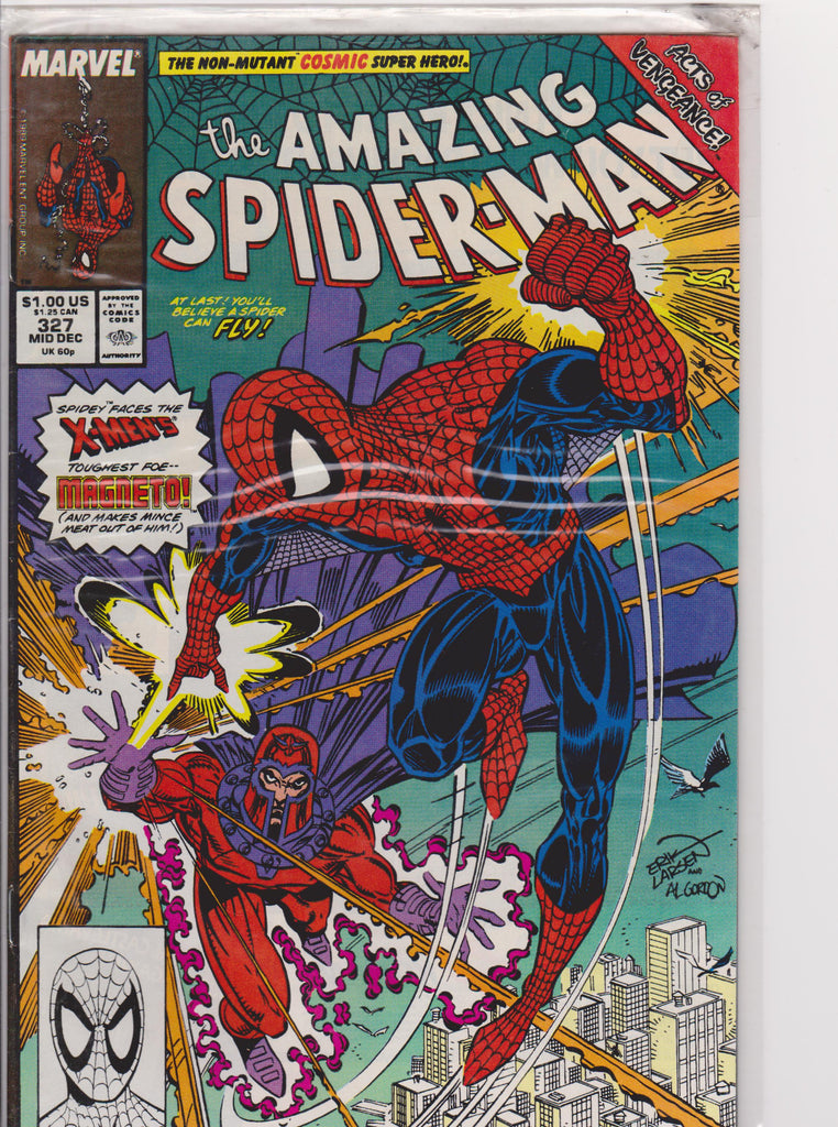 The Amazing Spiderman #327 NM 9.6 - The Dragon's Tail