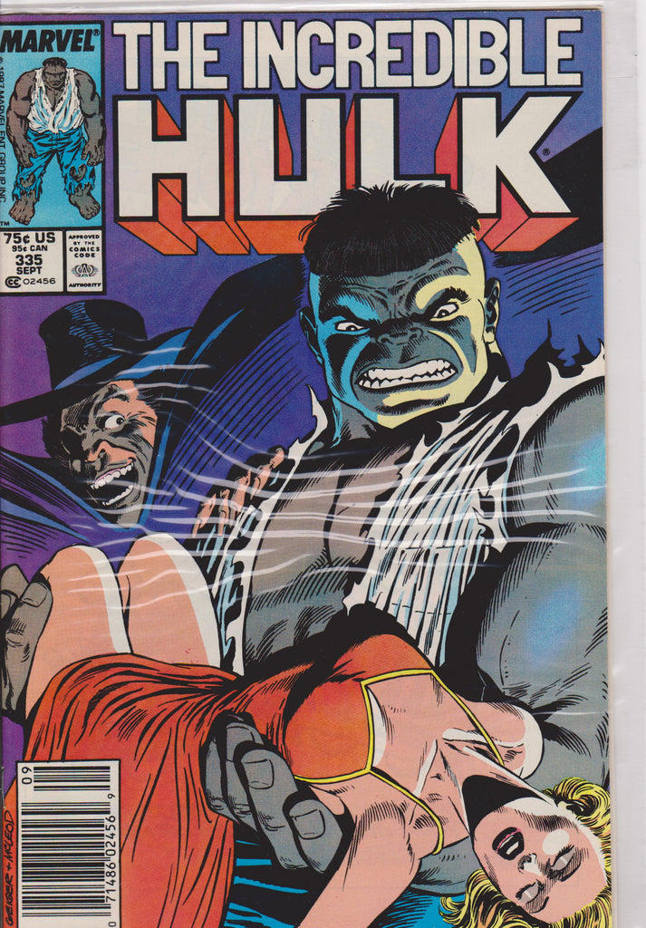 The Incredible Hulk #335  NM 9.8 - The Dragon's Tail