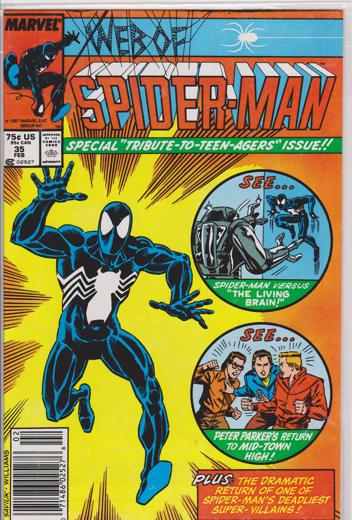 The Web of Spiderman #35 NM 9.6 - The Dragon's Tail
