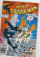 The Web of Spiderman #36 NM 9.6 - The Dragon's Tail