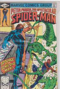 The Spectacular Spiderman #39 F 6.5 - The Dragon's Tail