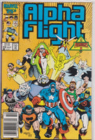 Alpha Flight #39 NM 9.0 - The Dragon's Tail