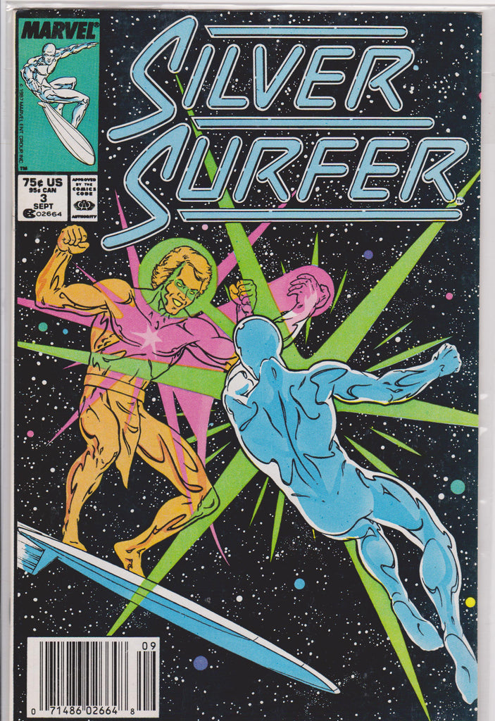 The Silver Surfer #3 NM 9.6 - The Dragon's Tail