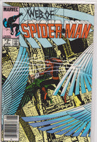 The Web of Spiderman #3 VF+ 8.5 - The Dragon's Tail