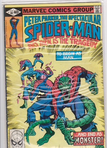 The Spectacular Spiderman #40 F 6.0 - The Dragon's Tail