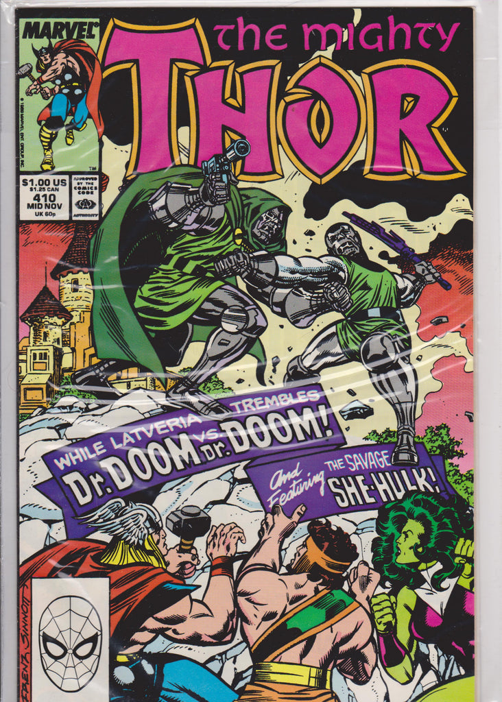 Thor #410 NM 9.8 - The Dragon's Tail