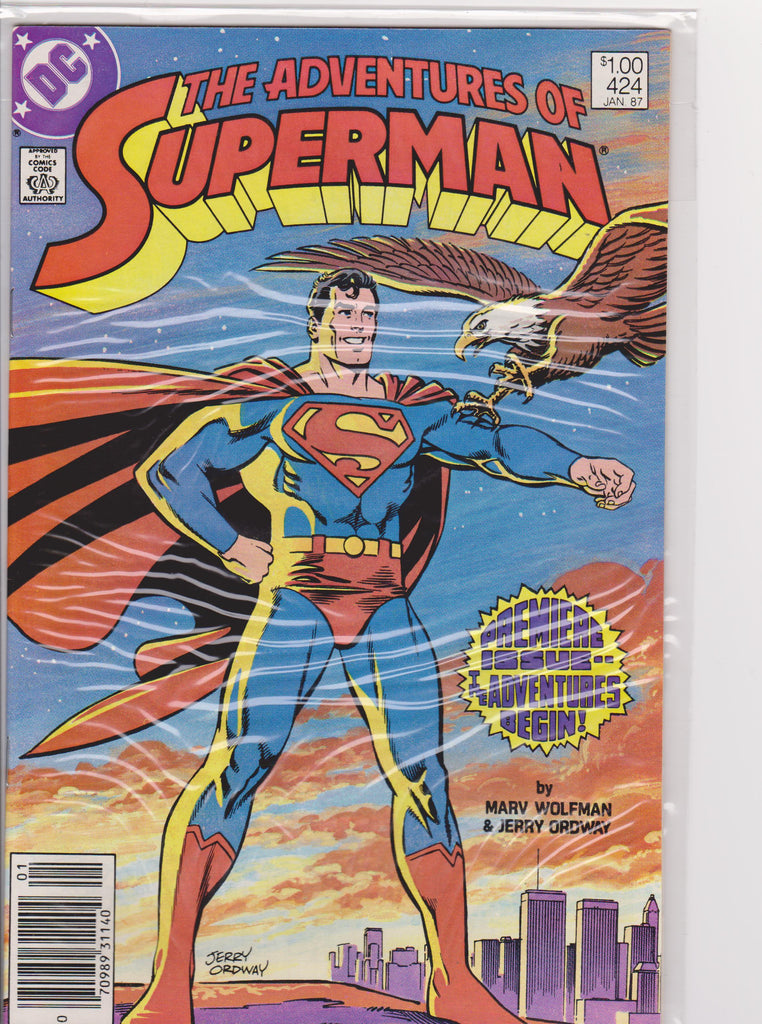Superman #423 NM 9.4 - The Dragon's Tail