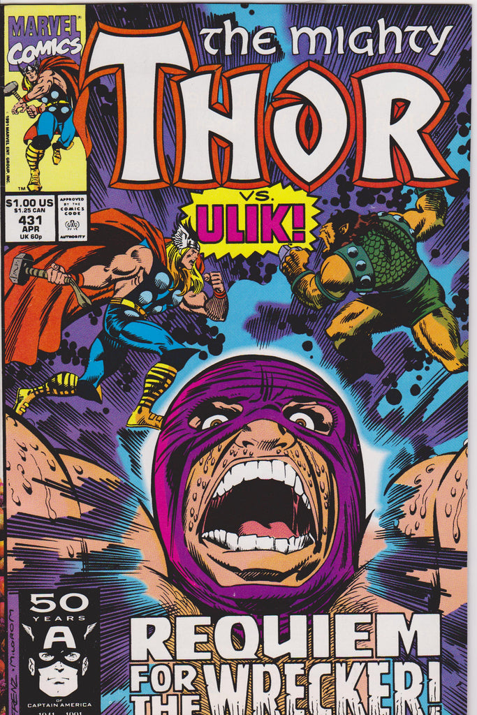 Thor #431 NM 9.8 - The Dragon's Tail