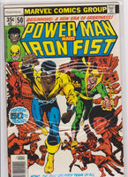Powerman and Ironfist #50 FN 7.0 - The Dragon's Tail