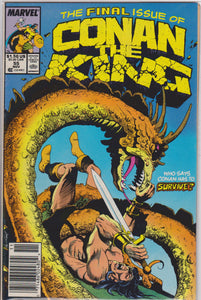 Copy of Conan the King #55 NM 8.0 - The Dragon's Tail