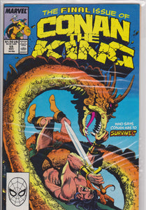 Conan the King #55 NM 9.6 - The Dragon's Tail