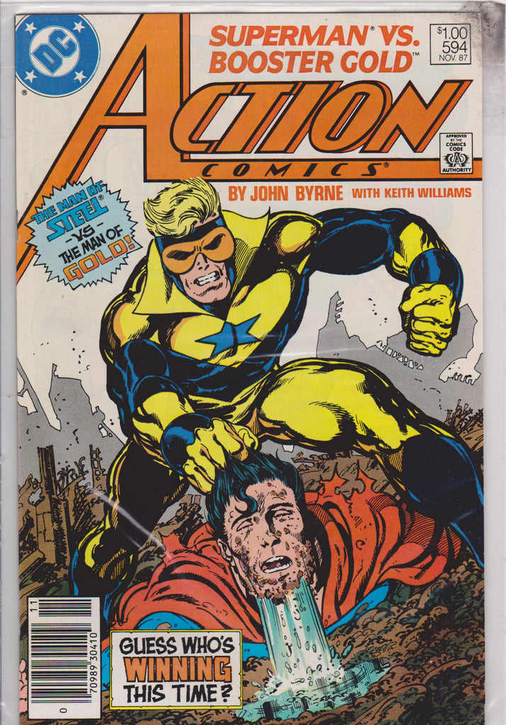 Action #594 NM 9.8 - The Dragon's Tail