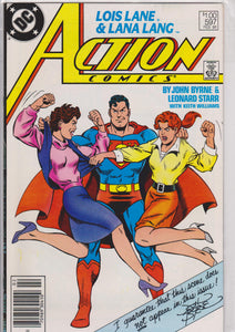 Action #597 NM 9.8 - The Dragon's Tail