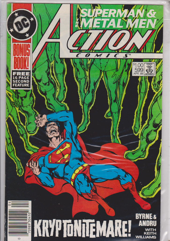 Action #599 NM 9.8 - The Dragon's Tail